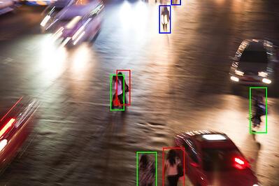 vehicle safety equipment_pedestrian detection