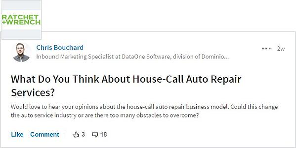 How to Be a Successful Mobile Auto Repair Business | DataOne