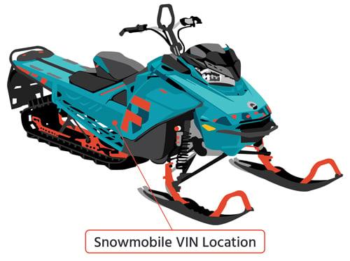 Snowmobile-VIN-Location